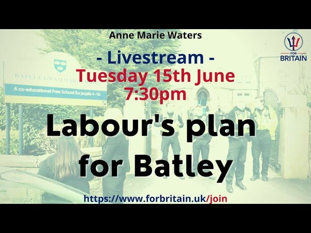 For Britain Live: 15th June 2021 at 19.30 GMT