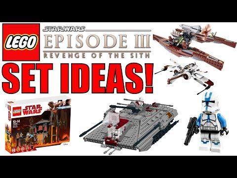 LEGO Star Wars Episode 3: Revenge Of The Sith Set ideas! (2019/2020 LEGO Star Wars Set Ideas!)