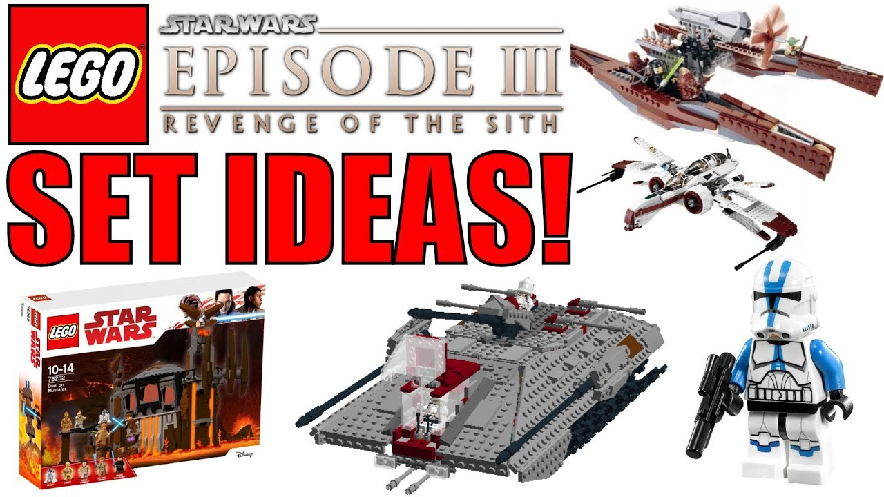 lego star wars episode 3 revenge of the sith set ideas. Black Bedroom Furniture Sets. Home Design Ideas