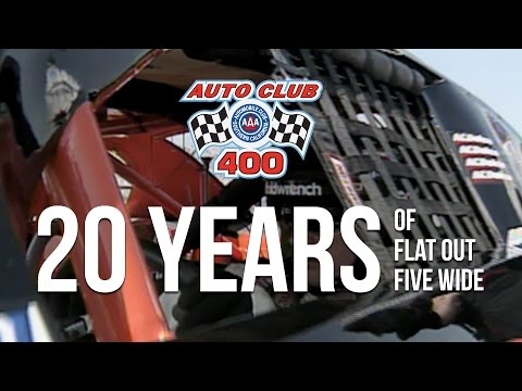 Official 2017 Auto Club 400 20th Anniversary Commercial Spot - NASCAR