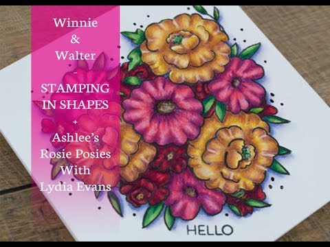 Stamping In Shapes With Winnie & Walter