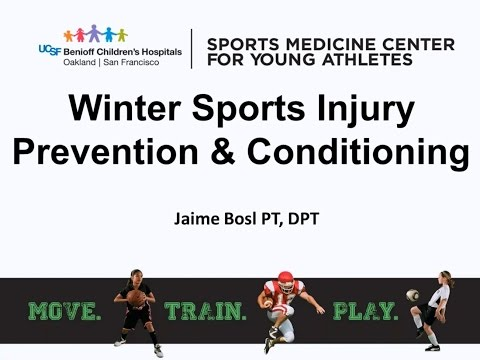 Skiing & Snowboarding Injury Prevention and Conditioning