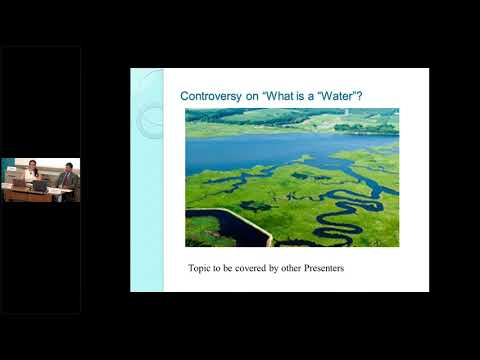 Basics of the Clean Water Act (ELI Summer School, 2018)