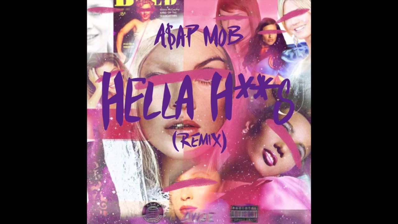 A$AP MOB X ASTON MATTHEWS X DANNY BROWN   HELLA HOES REMIX