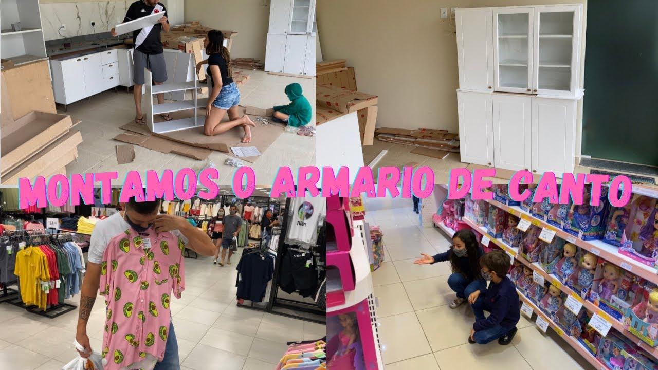 Download Montamos o armário de canto diferente da cozinha e fui parar no shopping | presente dia das crianças