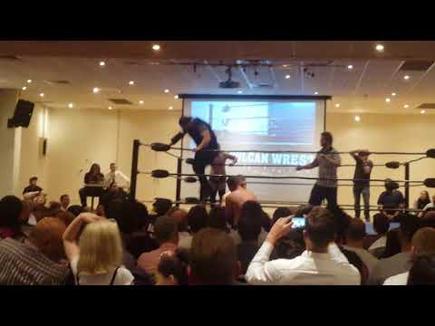 DJ PROLIFIK WRESTLING DEBUT - Cyprus Club Sydney - Commentary by VULCAN and JOHNNY BUSINESS