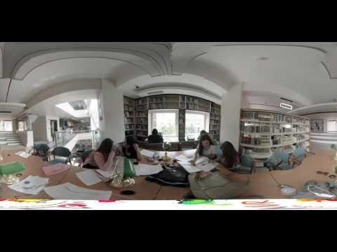 Istanbul Aydin University 360 Campus Tour