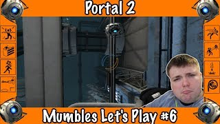 GLaDOS Is Mean! - Portal 2 -Mumbles Game Play #6