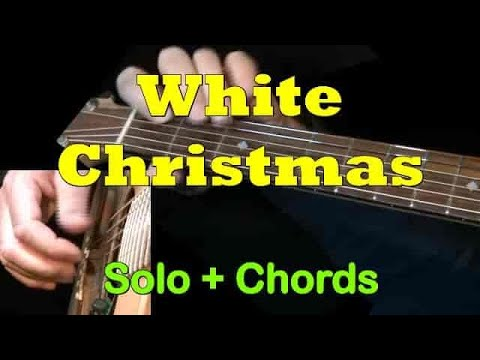 WHITE CHRISTMAS: Easy Guitar Lesson + TAB + CHORDS by GuitarNick