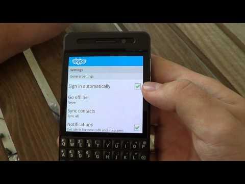 Skype For BlackBerry 10 Full Walkthrough