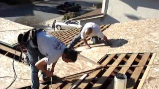 Installing Plywood On Roof