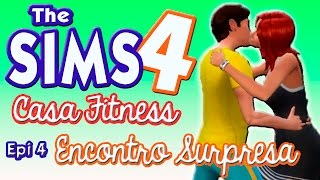 CASA FITNESS #4 ❤️ RUIVA MISTERIOSA ❤️ The Sims 4 | Gameplay Lalaland