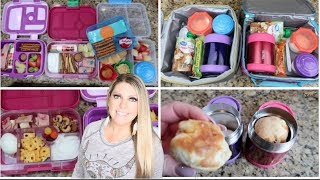 BACK TO SCHOOL LUNCH IDEAS for KIDS COLLAB - Week 2 & 3 - WHAT THEY ATE   HEALTHY & QUICK