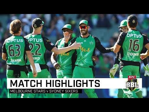 Stars stun Sixers to secure finals spot | KFC BBL|08 Mp3