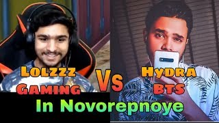 #HydraBTS #LolzzzGaming Hydra BTS vs Lolzzz Gaming Fight In Novorepnoye   Emulator #ShaktimaanGaming