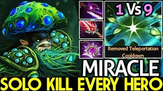 Miracle- [Nature's Prophet] WTF Solo Kill Every Hero Hard Game 1 Vs 9 7.21 Dota 2