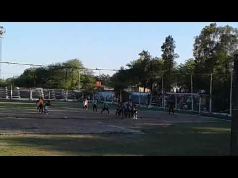 Platense de Añatuya  vs Talleres gol de Osvaldo Gomez