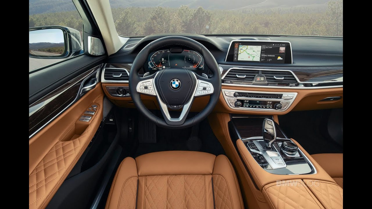 2019 Bmw 7 Series Facelift Interior Design
