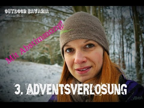 3. Adventsverlosung - Giveaway - & Abstimmung - Vanessa Blank - Outdoor Bavaria