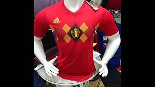Belgium World Cup Authentic Jersey 2018 - cheapsoccerjersey.org