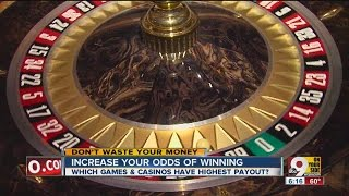Which games and casinos have highest payout?