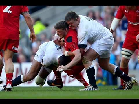 RBS 6 Nations Big Tackles: 2010-2014
