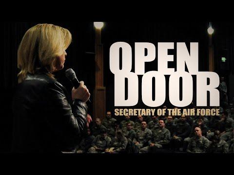 Secretary of the Air Force Open Door