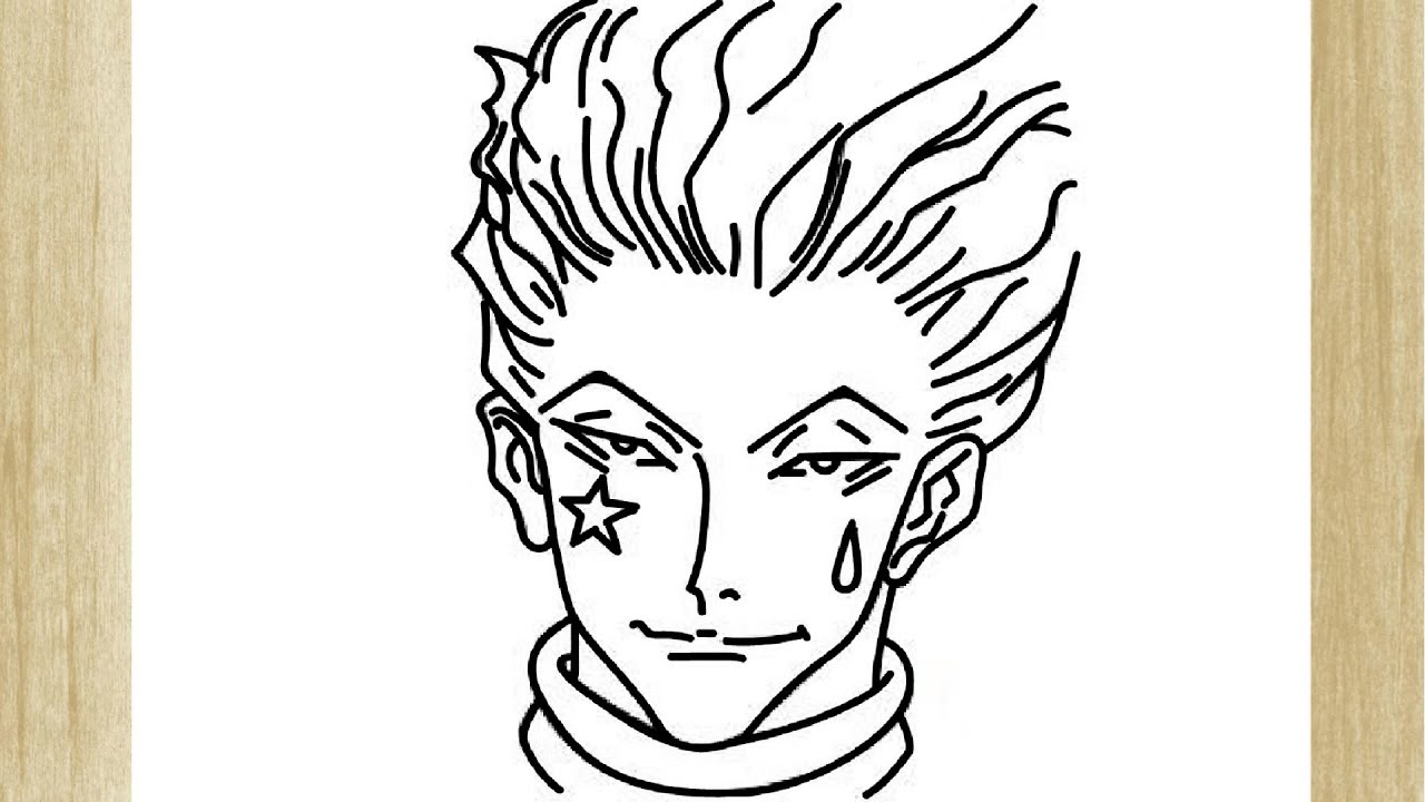 Como Dibujar A Hisoka De Hunter X Hunter Youtube