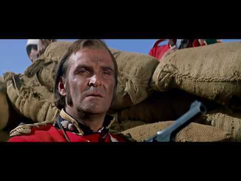 """Zulu"" 1964 Movie -  Final Battle Including ""Men of Harlech"" Song."