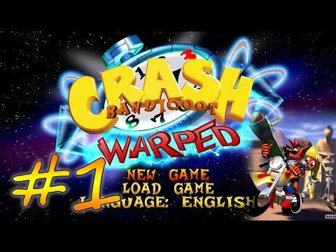 Прохождение Crash Bandicoot 3: Warped (PS) #1 - Средневековье