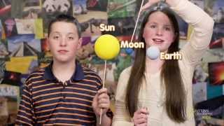 The Earth and the Moon | Nat Geo Kids Solar System Playlist