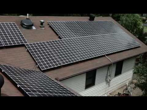 Installing 20 Solar Panels In 20 Seconds