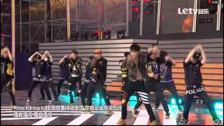 [中字HD]150523 Monsta X (몬스타엑스)Trespass (무단침입) live in dream concert 2015