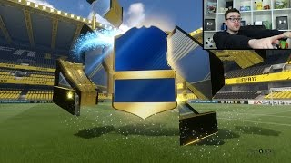 HUGE PREMIER LEAGUE TEAM OF THE SEASON PACK OPENING!!! Fifa 17 Pack Opening Live