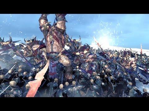 Lord Of The Dead VS Minotaur - Massive Battle Total War Warhammer |