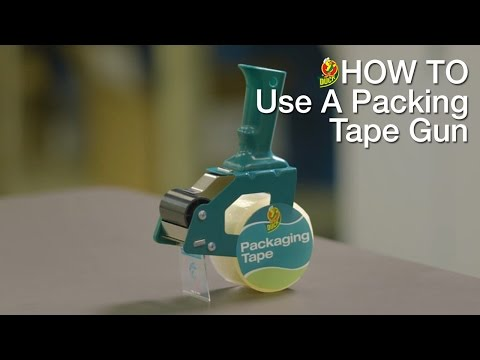 How To Use Your Duck Packing Tape Gun