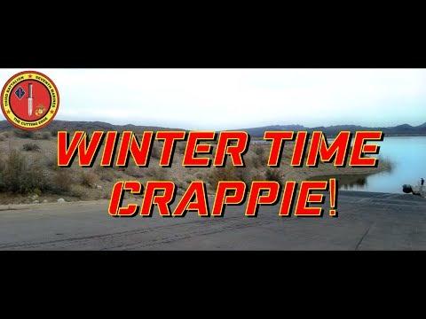 Winter Time Crappie at Alamo Lake 12 23 2017