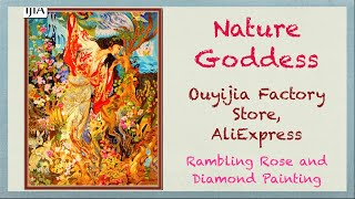 Unboxing Diamond Painting - Nature Goddess from Ouyijia Factory Store on AliExpress
