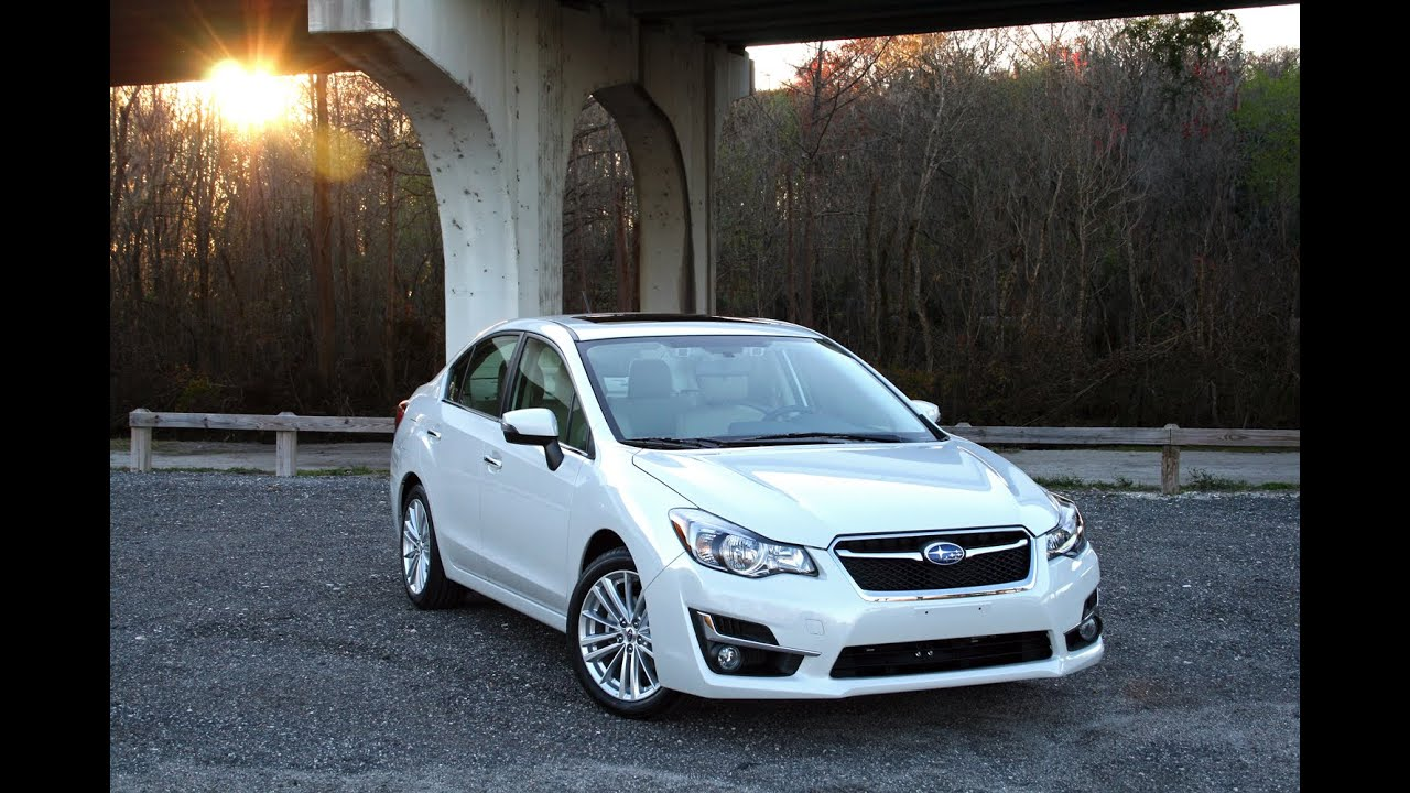 2015 subaru impreza 2.0i limited - driven - youtube
