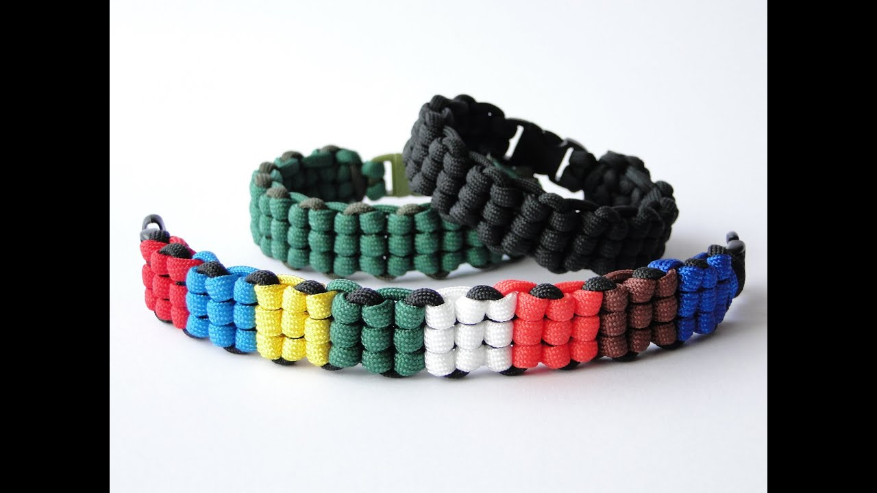 How To Make A Rubik S Cube Themed Paracord Survival