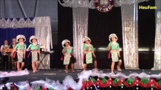 Sacramento Hmong New Year 2016 - 2017: Dance Comp Final Round - Nkauj Hmoob  Peev Xwm