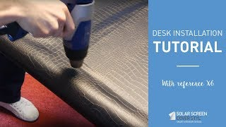 Cover Styl' - Desk installation (ref. X6)
