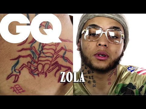 Zola révèle les secrets de ses tatouages