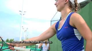Gabriella Charalampidi - US tennis recruiting video (fall 2019)