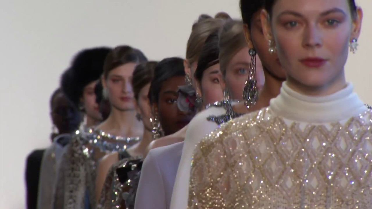 9234b2a472e Badgley Mischka Fall 2018 - YouTube