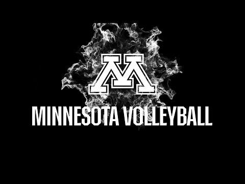 2016 Minnesota Gophers Volleyball Intro Video