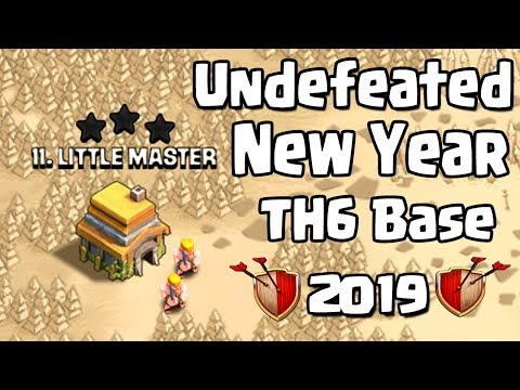 NEW TH6 WAR BASE 2019 Anti 3 STAR | Town Hall 6 (TH6) WAR BASE CLASH OF CLANS