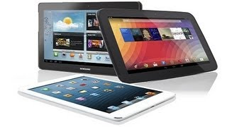 Best Tablets 2013 / 2014 - Top 10 Tablets for 2013 / 2014