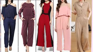 different style jumpsuit ideas for collage girls