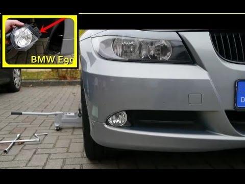 BMW Nebelscheinwerfer ausbauen Tutorial Fog Lights change BMW self ...